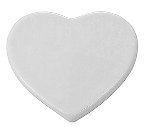 Tegel in keramiek 9.7 x 9.7 cm Heart (10)