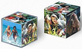 Acryilic glass photo cube 12pcs
