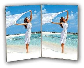 Acrylic double 7x10 vertical (12pcs)