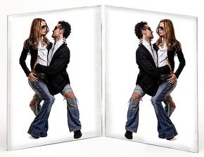 Acryl Double Frame 13x18 (12pcs)