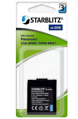 Panasonic CGA-S006E /DMW-BMA7 (Starblitz)