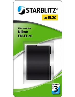 Nikon EN EL20 (Starblitz)