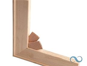 Spielat 40cm met vingerlasverbinding (50)
