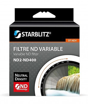 ND Variable (ND2-ND400) Filter 62mm