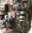 Cotton Carrier Camera Vest  voor 2 camera's met heupholster Camo