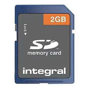 Integral 2GB SD card